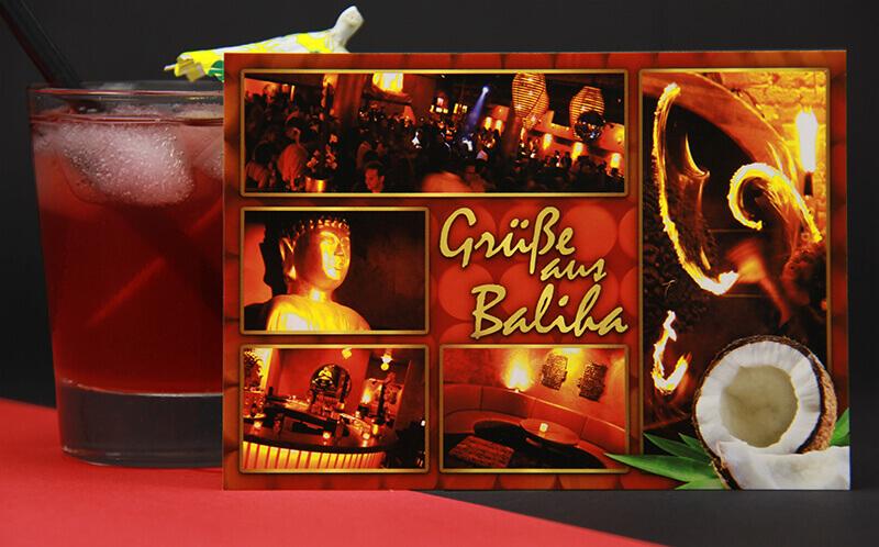 Baliha Dance Club Postkarte