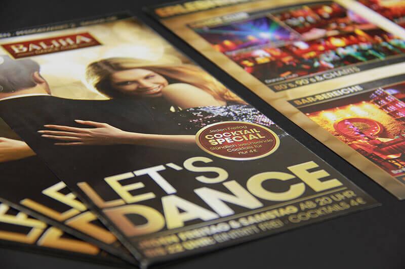 Baliha Dance Club Faltblatt
