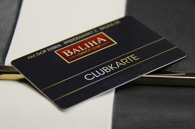 Baliha Dance Club Ausweiskarte