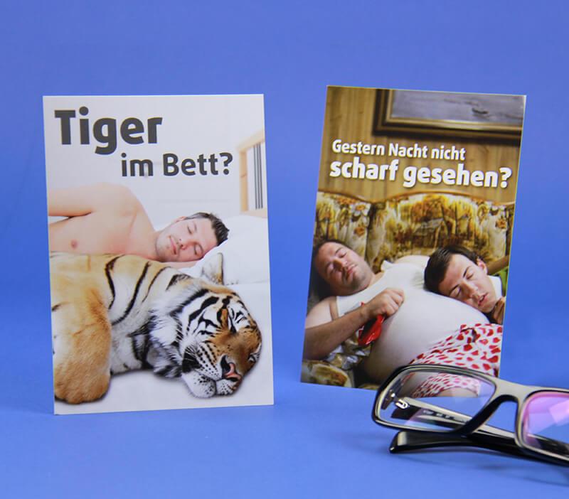 Smile Eyes Augenkliniken Postkarten