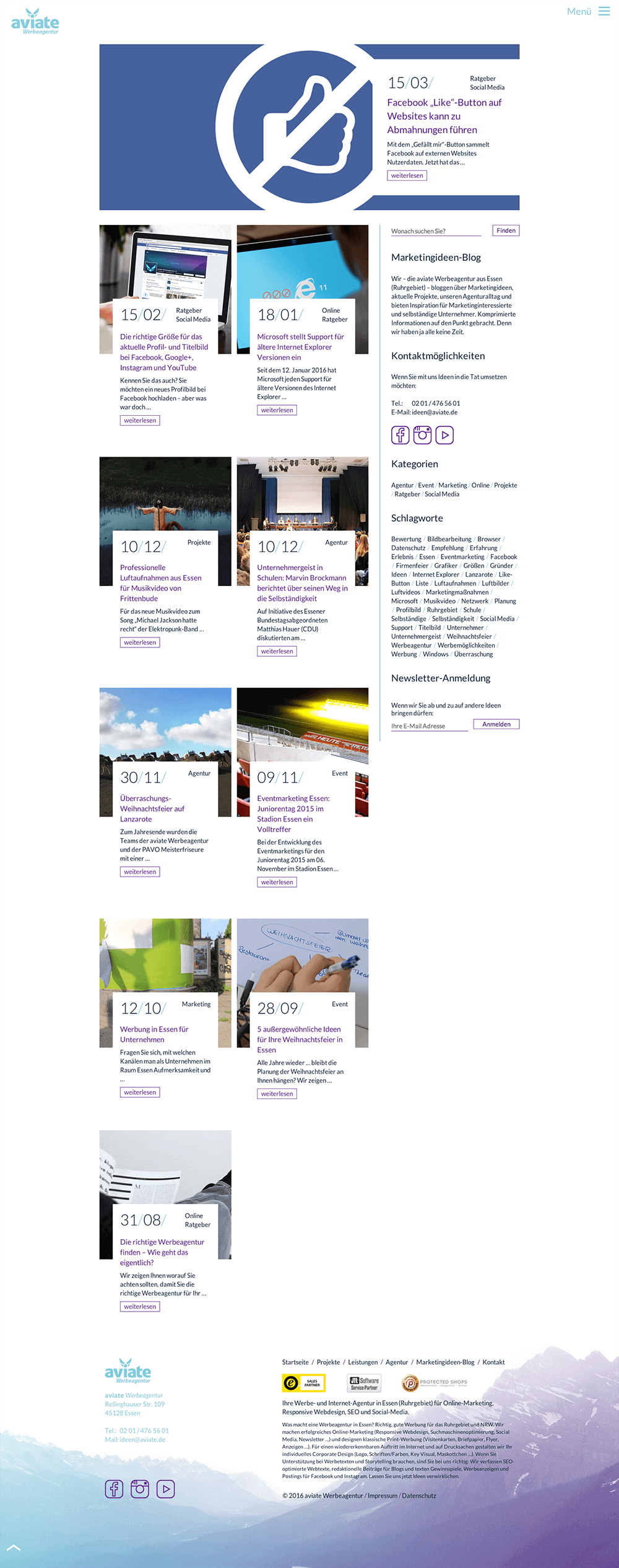 aviate Werbeagentur Blog