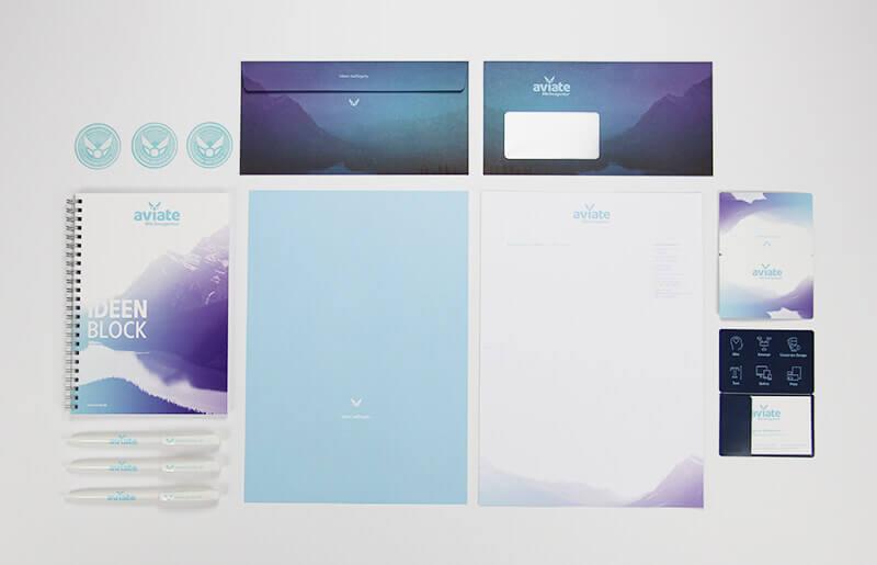 aviate Werbeagentur Corporate Design