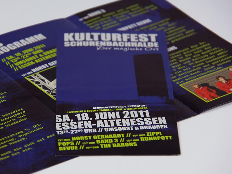 Kulturfest Faltblatt