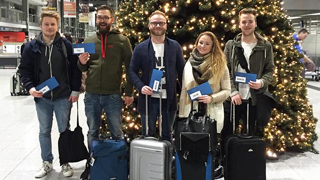 Das Team der aviate Werbeagentur Essen am Flughafen