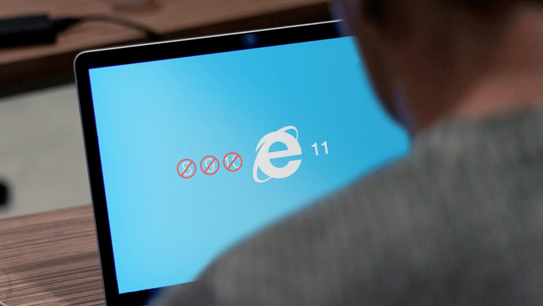 Microsoft stellt Support für ältere Internet Explorer Versionen ein