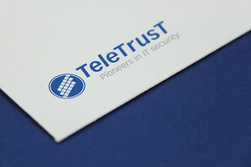 TeleTrusT Detailaufnahme Briefumschlag