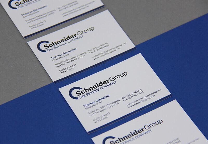 Schneider Group Visitenkarte