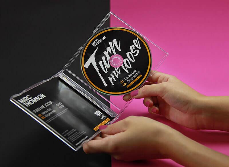 Neon Trax CD und Cover