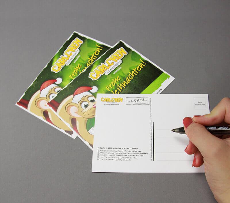 Zeche Carl Postkarte