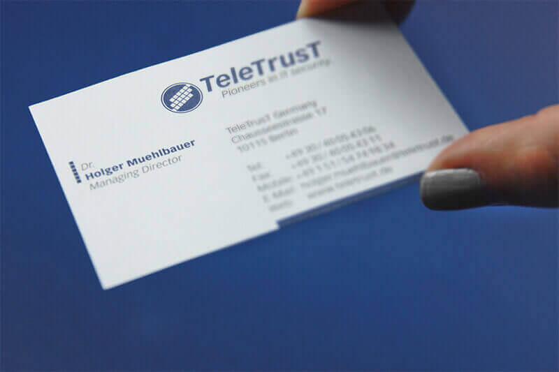 TeleTrusT Visitenkarte