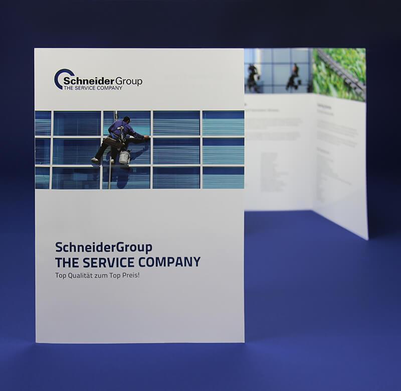 Schneider Group Faltblatt