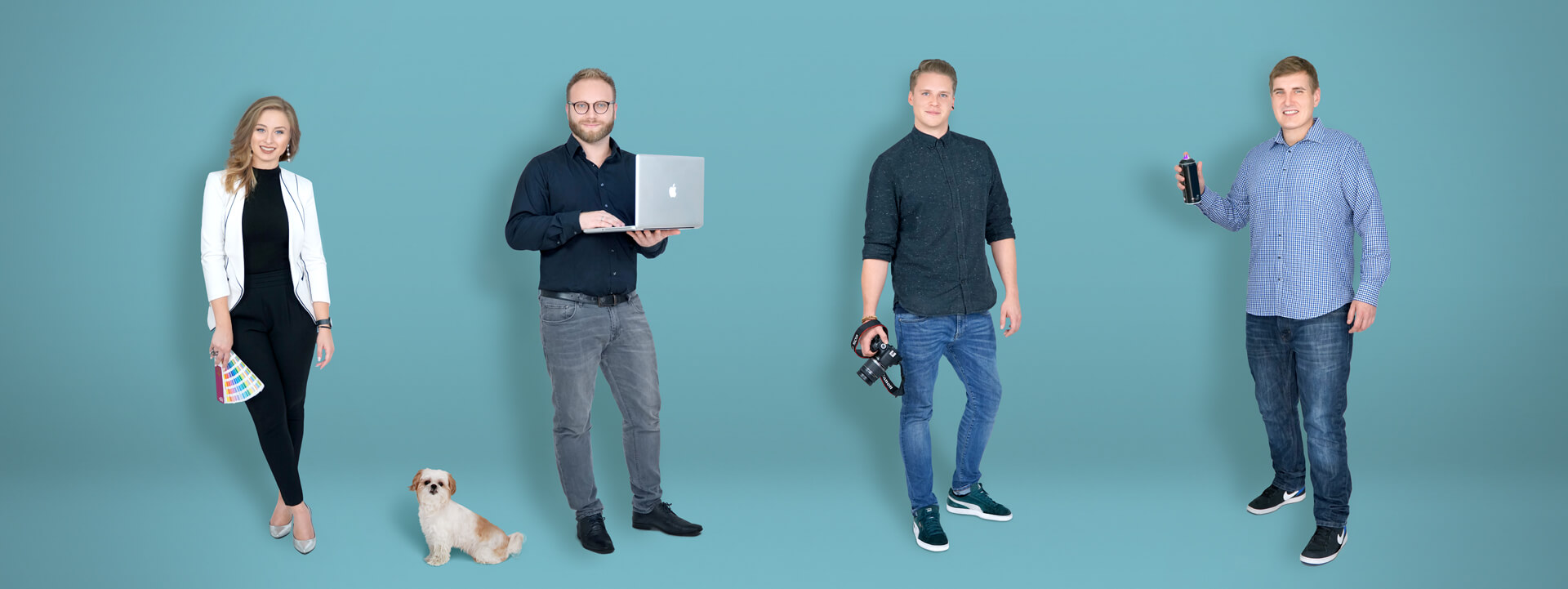 Das Team der aviate Werbeagentur in Essen